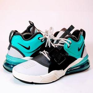 🆕 Nike Air Force 270 White Black Hyper Jade Shoes